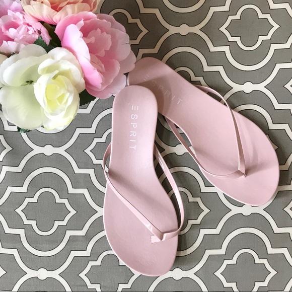 2fbe8dd5b33f Esprit Shoes - Esprit Pink Flip Flops. NWOB